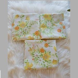 Vintage Floral Standard Pillowcases